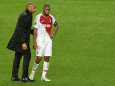 Henry defended his players after the crushing defeat. AFP