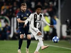 Cuadrado está a punto de renovar con la Juventus. AFP