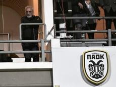 El TAS perdona al PAOK. AFP