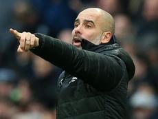 Guardiola quiere la Champions sí o sí. AFP