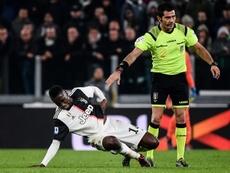 Matuidi veut faire son retour pour la Ligue des champions. AFP