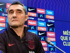 Ernesto Valverde percevra une petite indemnité. afp