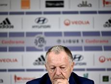 Pour Aulas, il y a de moins en moins de chances que la Ligue 1 reprenne. AFP