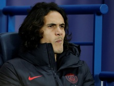 Cavani needs to make a decision. AFP/Archivo