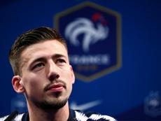 Lenglet estime qu'en France, Varane et Umtititi sont les titulaires. AFP