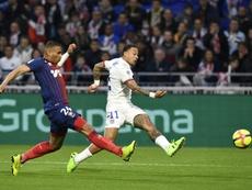 El Lyon ha goleado al Caen en la penúltima jornada. AFP