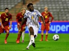 Bélgica empató con Costa de Marfil. AFP