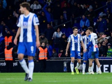 Hasta diez positivos en el Espanyol. AFP