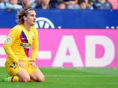 Valverde demande de la patience pour Griezmann. AFP