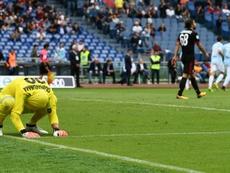 Milan empata com a Udinese. AFP