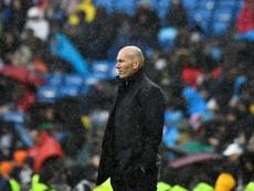 Voici la manière dont Zidane a réparti le temps de jeu. AFP