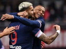 El fútbol seguirá en Francia aunque haya otro confinamiento. AFP