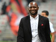 Vieira descartó el regreso de Ben Arfa al Niza. AFP