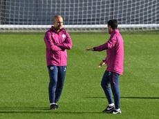 Guardiola podría hacer con Arteta como hizo con Tito Vilanova. AFP