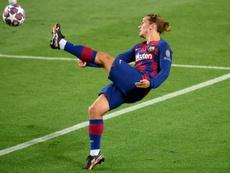 Griezmann ha perdido protagonismo en el Barça. AFP
