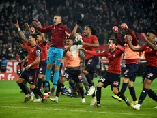 El Lille barrió al PSG. AFP
