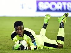 Le gardien du Cameroun Fabrice Ondoa. AFP
