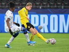 Haaland has scored 15 Champions League goals. AFP