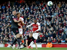 Arsenal Alexandre Lacazette. AFP