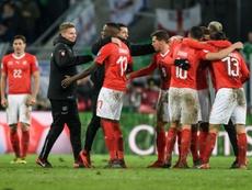 Suiza se impuso con contundencia a Gibraltar. AFP/Archivo