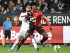 Le président de Rennes dément les rumeurs menant Camavinga au Bayern. AFP