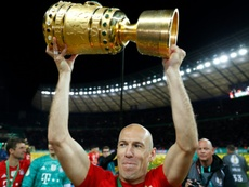 Robben could join Lazio this summer. AFP