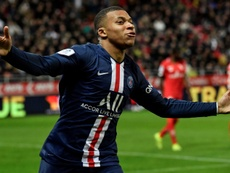Mbappe wants to play at Real Madrid. AFP