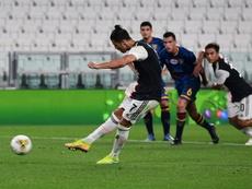 La Juventus batte il Lecce. AFP