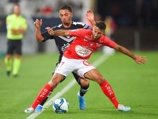 Les compos probables du match de Ligue 1 entre Brest et Metz. AFP