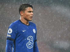 Thiago Silva was persuaded by Lampard. AFP