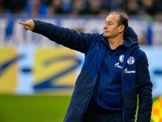 El Schalke 04 empató ante el Nurnberg. AFP