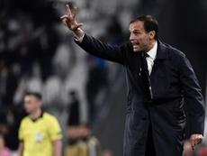 Allegri podría pasar del paro al Manchester United. AFP
