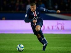 Kylian Mbappè, star francese del PSG. AFP
