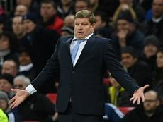 El técnico belga no cuenta con el lateral. AFP