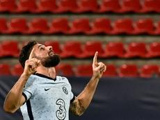 Olivier Giroud met fin aux rumeurs de départ cet hiver. AFP