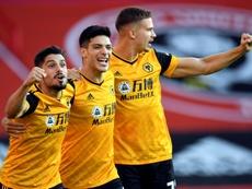 Les compos probables du match de Premier League entre Wolverhampton et City. AFP