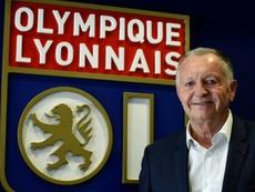 Aulas souhaite le meilleur à Moussa Dembélé. AFP
