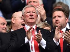 El United, en crisis. AFP