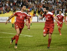 Syria's Soma puts World Cup play-off on knife-edge. AFP