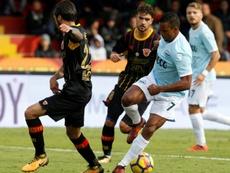 Nani já sabe o que é marcar pela Lazio. AFP
