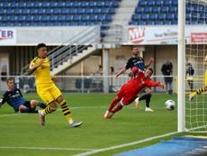 Il Borussia Dortmund travolge il Paderborn. AFP