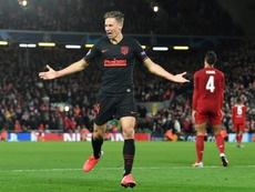 Algoz do Liverpool diz que Atlético de Madrid fez ingleses surtarem em eliminação da Champions. AFP