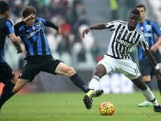 Pogba spent three years in Turin. AFP