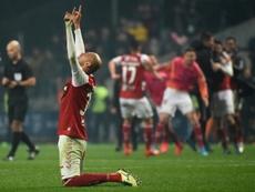 El fútbol queda en el aire, a expensas de la crisis sanitaria. AFP