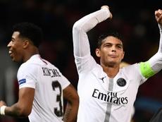 Thiago Silva quiere triunfar con el PSG. AFP