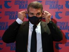 El Barça mantiene las elecciones el 7-M. AFP