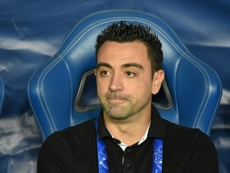 Xavi, multado no Catar. AFP