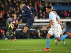 La afición del Marsella se queda sin 'clásico' ante el PSG. AFP