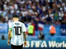 Messi n'a pas brillé en Europe. AFP