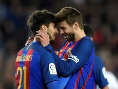 André Gomes explicó por qué no triunfó en el Barça. AFP